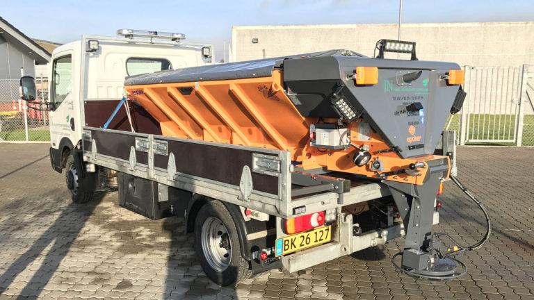 maskine til snerydning aalborg, nordjylland